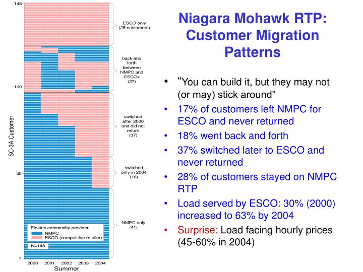 Niagara Mohawk RTP: Customer Migration Patterns