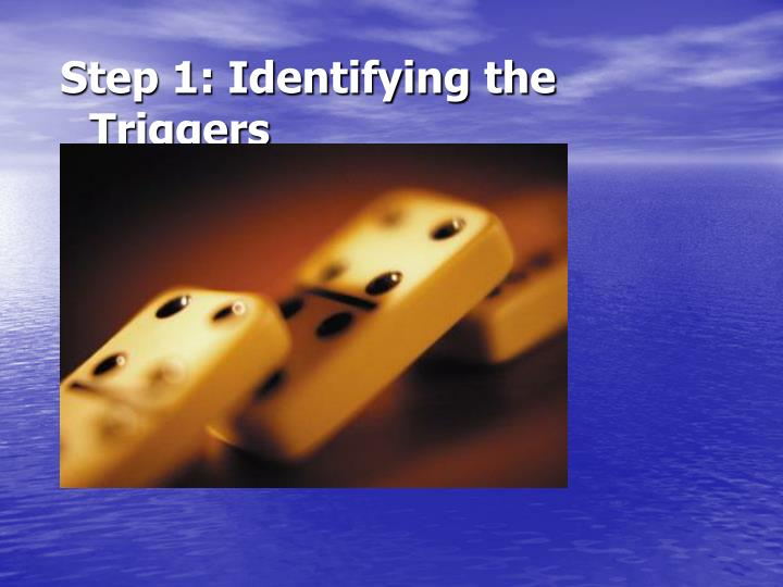 Step 1: Identifying the Triggers