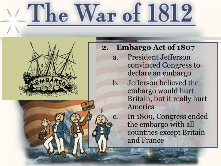 Embargo Act of 1807