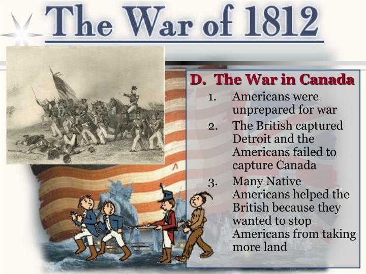 The War in Canada