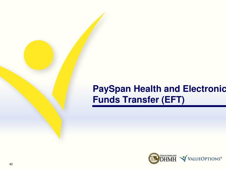 PaySpan Health and Electronic Funds Transfer (EFT)