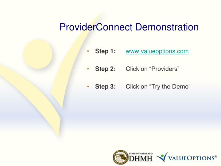ProviderConnect Demonstration