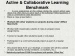 active collaborative learning benchmark