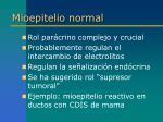 mioepitelio normal8