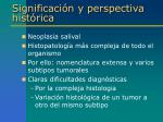significaci n y perspectiva hist rica