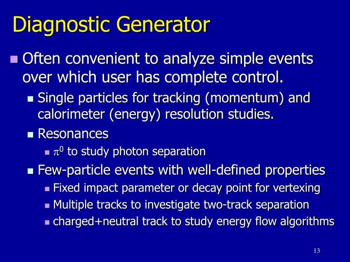 Diagnostic Generator