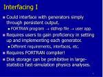 interfacing i