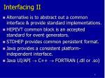 interfacing ii