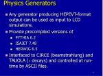 physics generators1