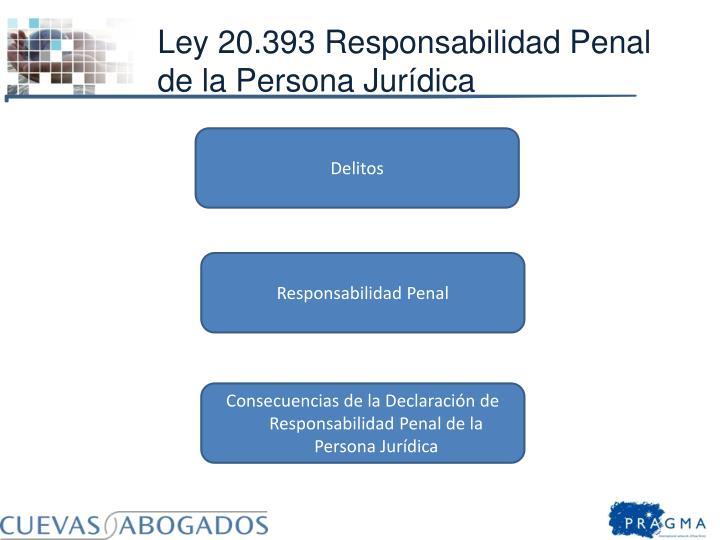 Ley 20.393 Responsabilidad Penal de la Persona Jurídica