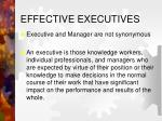 effective executives1