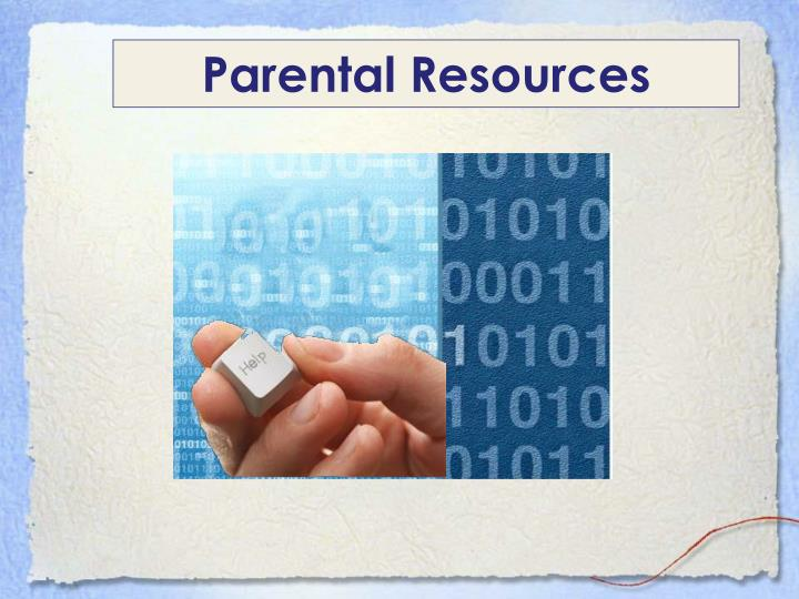 Parental Resources