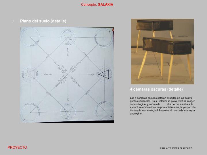 Plano del suelo (detalle)