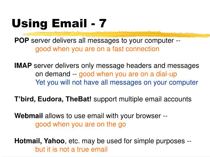 Using Email - 7