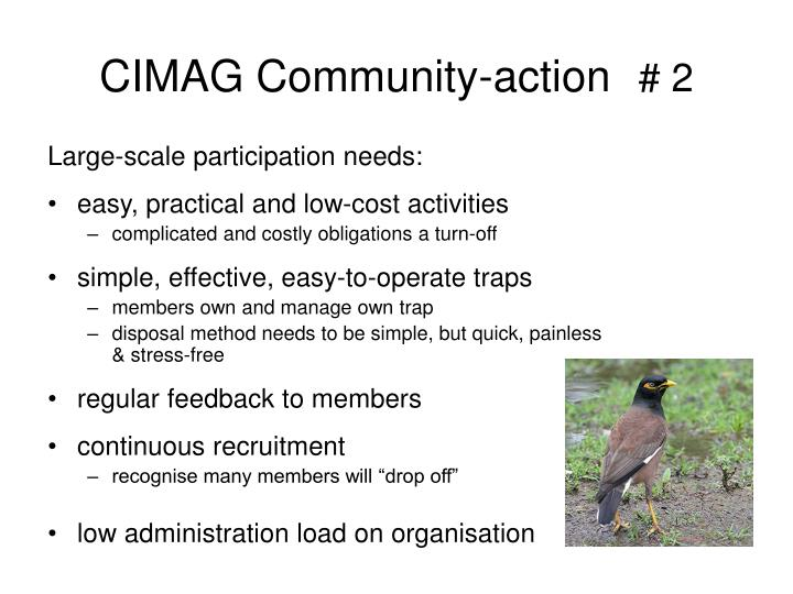 CIMAG Community-action