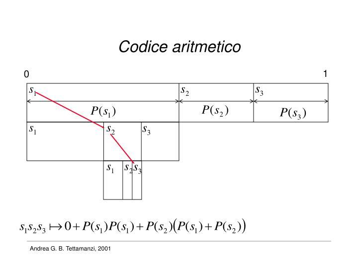 Codice aritmetico