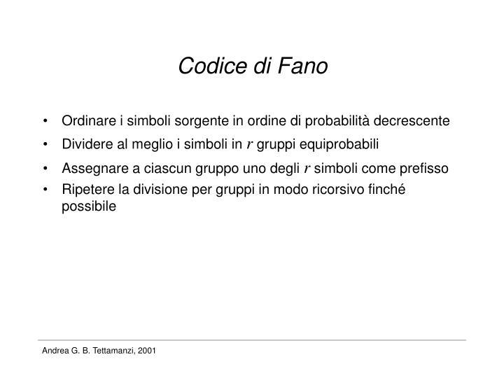 Codice di Fano