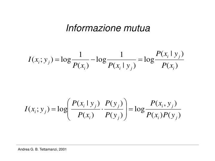 Informazione mutua