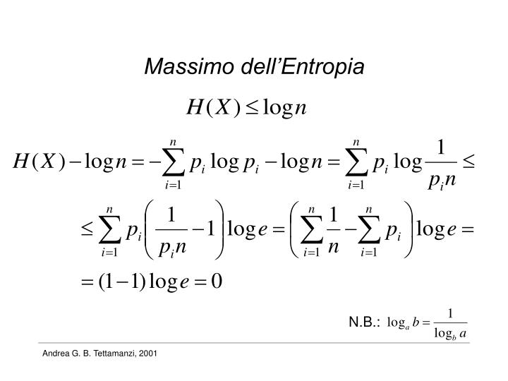 Massimo dell'Entropia