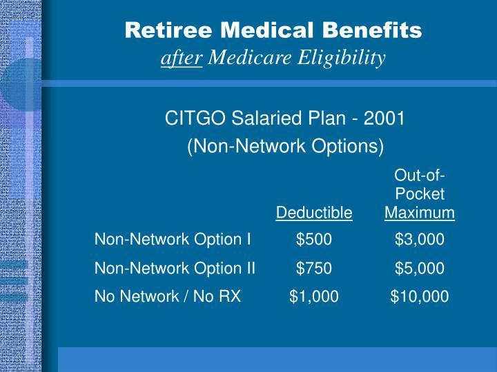 CITGO Salaried Plan - 2001