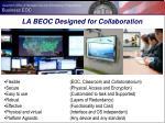 la beoc designed for collaboration