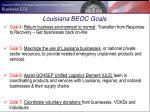 louisiana beoc goals1