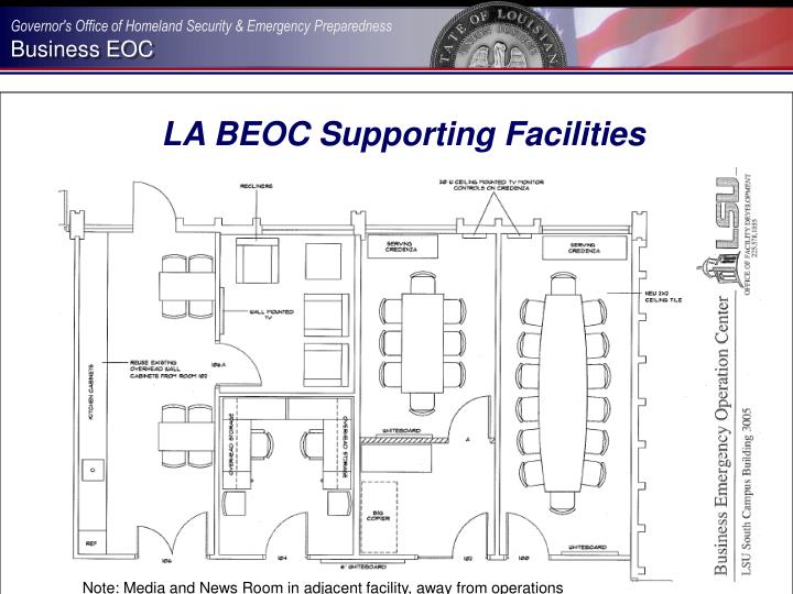 LA BEOC Supporting Facilities