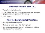 what the louisiana beoc is