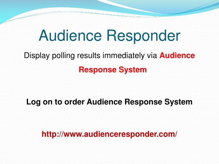 Audience Responder