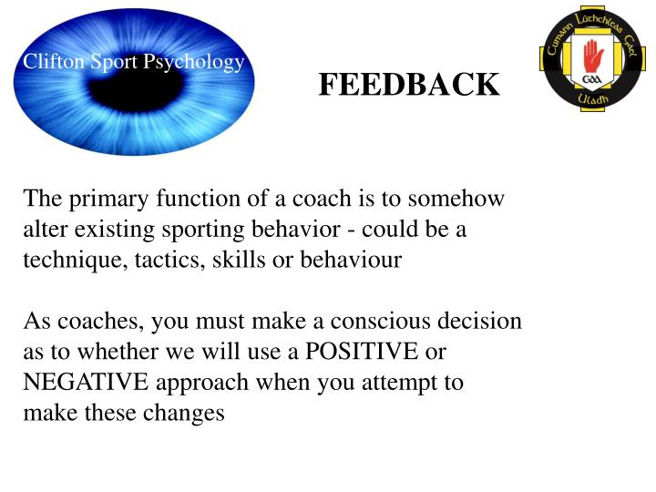 Clifton Sport Psychology