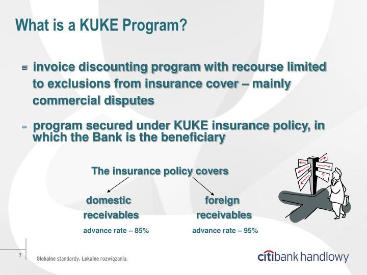 What is a KUKE Program?
