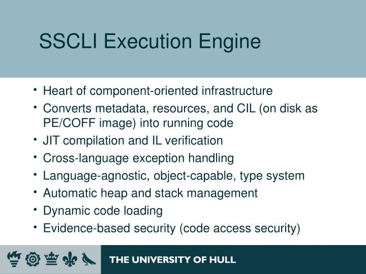 SSCLI Execution Engine