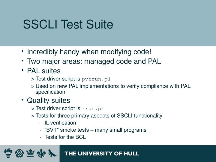 SSCLI Test Suite