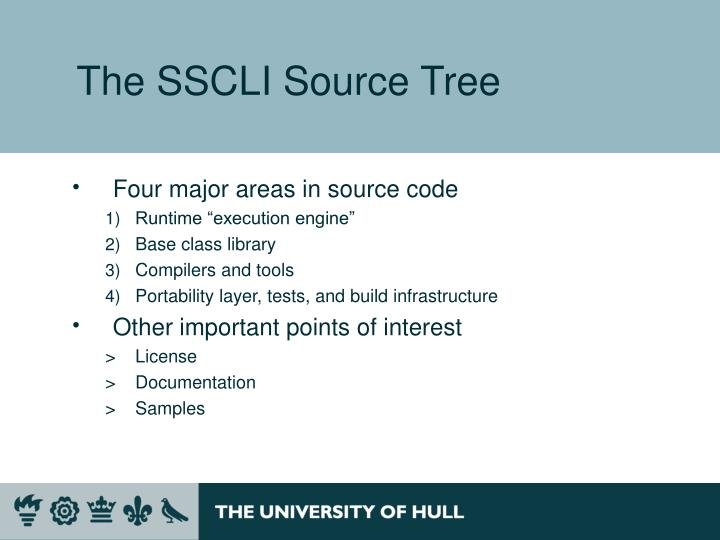 The SSCLI Source Tree