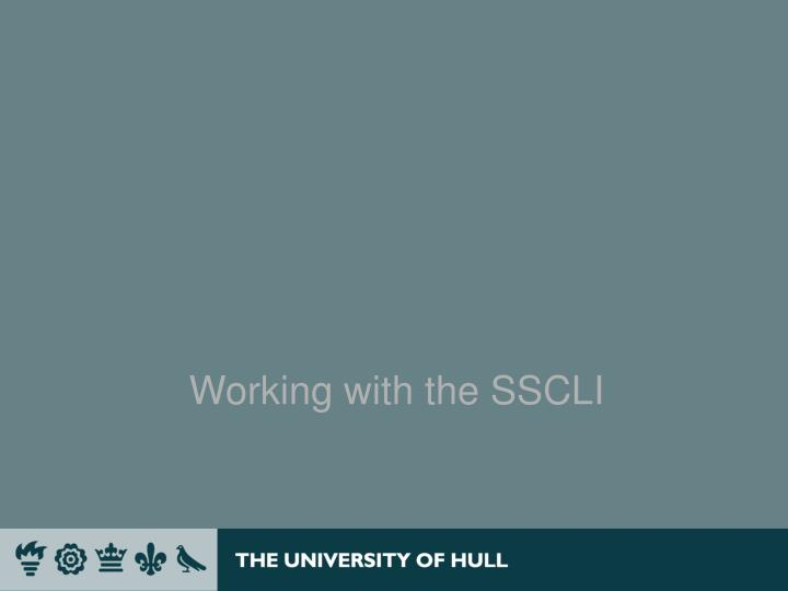 Working with the SSCLI