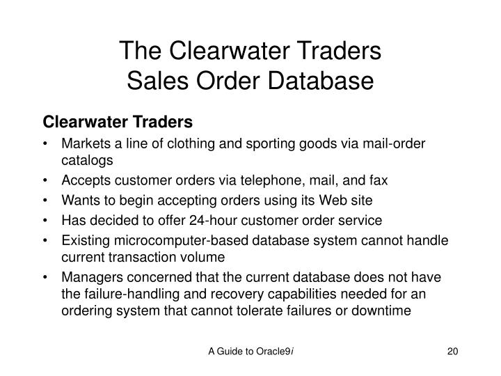 The Clearwater Traders