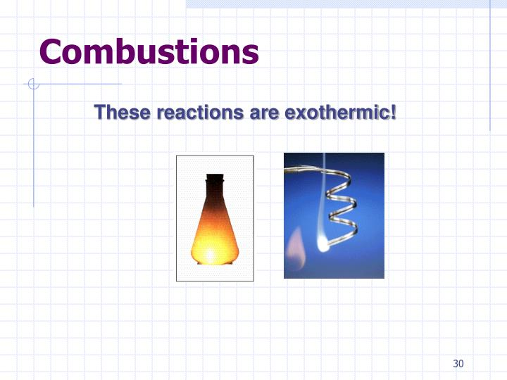 Combustions