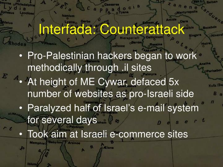 Interfada: Counterattack