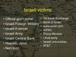 israeli victims