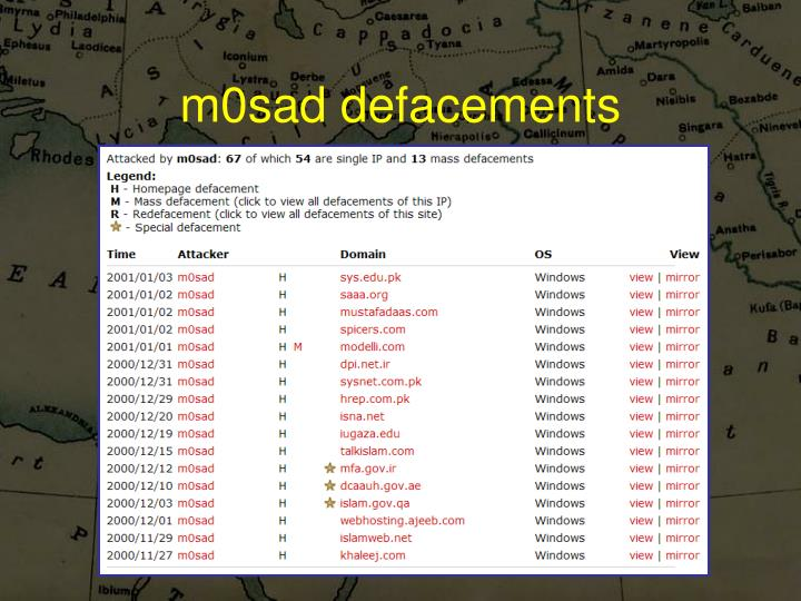 m0sad defacements