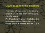 usa caught in the crossfire