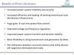 benefits of power electronics