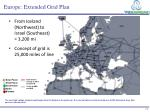 europe extended grid plan