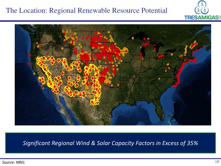 The Location: Regional Renewable Resource Potential