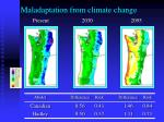 maladaptation from climate change