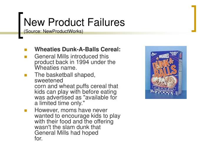 New Product Failures