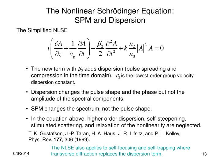 The Nonlinear Schr