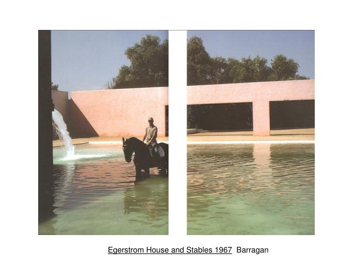 Egerstrom House and Stables