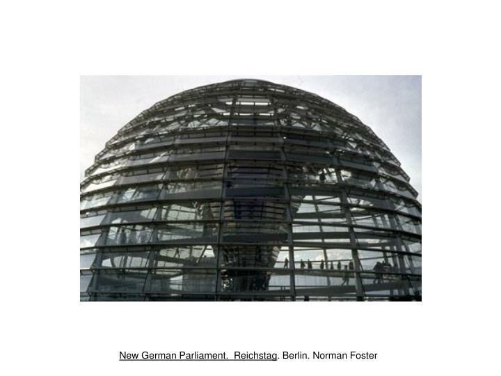 German Parliament. Reichstag