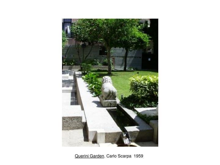 Quirini Garden. 1959